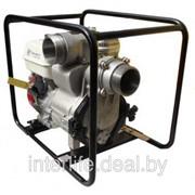 Мотопомпа бензиновая AGT AWT-100 HX, грязевые мотопомпы фото