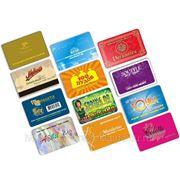 Изготовление пластиковых карт смарт-карт бесконтактных карт фото