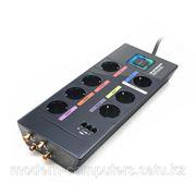 Сетевой фильтр, MONSTER High Definition HDP 650 PowerCenter, 7 розеток, интерфейс коаксиальный 1шт. телефонный 1шт. фото