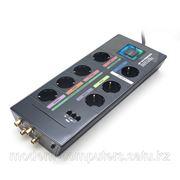 Сетевой фильтр, MONSTER High Definition HDP 750G PowerCenter, GreenPower, 7 розеток, интерфейс коаксиальный 2шт. телефонный 1шт. фото