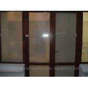Тонирование и бронировка окон, стекол, витрин, перегородок фото