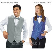Униформа для работников отелей (жилет мужской), арт. 003-0965 фото