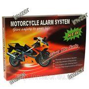 Cигнализация для мотоцикла, скутера, мопеда влагостойкая с автозапуском двигателя и подключением к поворотным огням фото