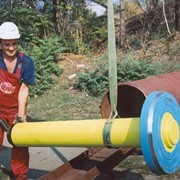 Оборудование для забивки и извлечения свай, пневмопробойники для забивания труб в скважину. фото