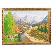 "Картина ""Осень в горах"" багет 58х78 см ПИ16 фото"