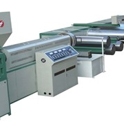 Экструзионная линия для производства ПП ленточек плоских PUSJ-FS5.5-120B/1200 фото
