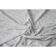 Трикотажное полотно Серый меланж фото