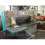 Бумагороезальная машина PERFECTA 115 UC 2001 год большие столы фото