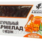 Мармелад Сибирские Афины сибирский на меду с облепихой 200гр фото