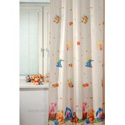 Детские шторы TAC Портьера Винни И Друзья Цвет: Коричневый (200x265 см.) фото