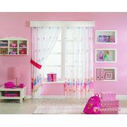 Детские шторы TAC Тюль Барби.Принцесса И Нищенка Цвет: Розовый (265X300 см.) фото