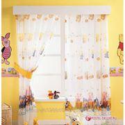 Детские шторы TAC Портьера Винни Радуга Цвет: Персиковый (200x265 см.) фото