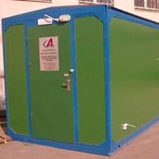 Стационарная автоматическая станция экологического мониторинга фото