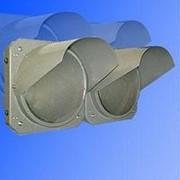 Noname Светофор для ж/д переездов двухсекционный горизонтальный 300 мм красный (не стандарт) арт. СцП23401 фото