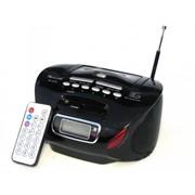 Бумбокс колонка MP3 USB радио Golon RX 627 Black par002576opt фото