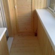 Теплоизоляция балкона, остекление, утепление, отделка. Комплекс работ! фото