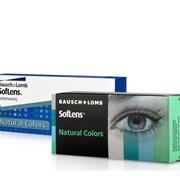 Контактные линзы Bausch&Lomb SofLens Natural Colors, цветные контактные линзы для кардинального изменения цвета темных и светлых глаз фото