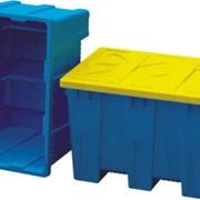 Ящик контейнер пластмассовый фото