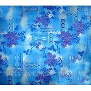 Ткань постельная Ситец Донецкий Сирень фото