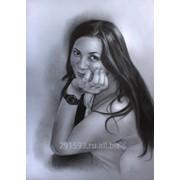 Портрет по фотографии карандашом фото