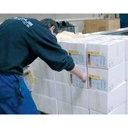 Сортировка продукции по внешнему виду упаковки. Компания Ренус Ревайвел ООО предлагает полный спектр логистических услуг фото