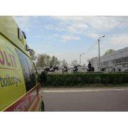 Транспортировка больных в лечебное учреждение фото