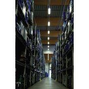 Стеллажное хранение грузов. Компания Ренус Ревайвел ООО предлагает полный спектр логистических услуг фото