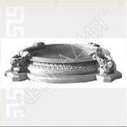 Бассейн фонтана (с вазами малый) Арт.№031 ТМ Леокадия фото