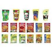 Упаковка сыпучих и пастообразных продуктов питания фото