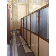 Алюминиевые комнатные перегородки фото