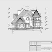 Проект дома, коттеджа - индивидуальное проектирование современных домов - Рабочий проект - пример фото
