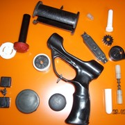 Литье пластика под давлением на тпа 125 куб шприц пресс усилие 63т. вакуумная формовка стол 600*400 и 500*800 фото
