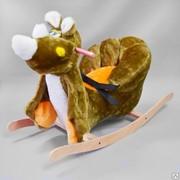 Детское кресло - качалка носорог Ридик фото