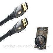 Интерфейсный кабель, HDMI-HDMI, MONSTER CABLE, Ultimate High Speed MC 1000 HD-4M, 127656, Контакты с золотым напылением, 4 м, Чёрный фото
