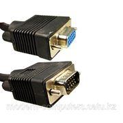Удлинитель, VGA (D-Sub) 15Male/15Female, 3 м. фото