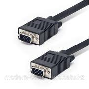 Интерфейсный кабель, VGA, 15Male/15Male, SHIP, VG002M/M-3P, Пол. Пакет, 3 м фото