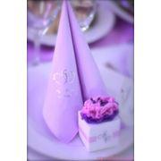 Весільні серветки бенкетні серветки свадебные салфетки фото