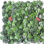 Трава искусственная MZCGZ-06002 плющ с красными цветами фото