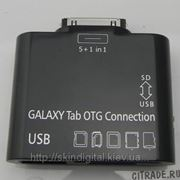 USB OTG Cable Adapter for Samsung Galaxy Tab 10.1/8.9/P7500/P7510 фото