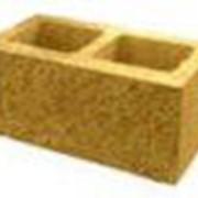 Камень стеновой лицевой рядовой 390х190х188 фото