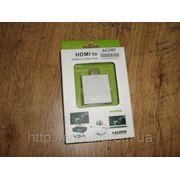 HDMI VGA конвертер внешний мини преобразователь (звук, HDCP, внешнее питание) + переходник HDMI мама-папа фото