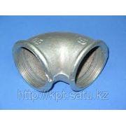Отводы резьбовые оцинкованная сталь фото