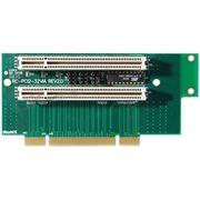 Райзер PCI — PCI dual плата расширения слота PCI фото