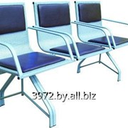 Секция стульев Лаванда-3П фото