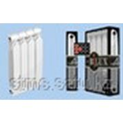 Радиатор биметалл BILUX Plus 8/300 H=365; W=79-85; L=80; bar=20 142W масса секции= 1,29 кг фото