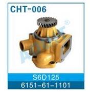 Водяная помпа S6D125 (6151-61-1101) фото