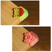 Мягкие накладки на углы Зверята Beideli, 4 шт, поросёнок фото