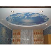 Фотообои для потолка фото