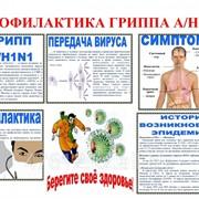 Плакат Профилактика ГРИППа К.12 фото
