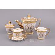 Чайный сервиз на 6 персон 15 пр. 1000/200 мл. (869662) фото